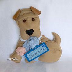 1001 Feltros: Pets na porta da maternidade
