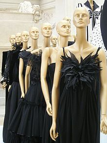A collection of black dresses by Valentino at the Museo Ara Pacis in Rome. Valentino Clement Ludovico Garavani B: - 11th May 1932 (age 81). Studied in Paris at Ecole des Beaux-Arts & Chambre Syndicale de la Couture Parisienne. Apprenticeship Jean Desses & Guy Laroche. Opened maison de couture in Rome 1959 with financial support from family. Known for his red dresses and elegance. Master of haute couture <3