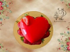 Postup na zrkadlovú polevu - mirror glaze a zamatovú čokoládu. Chocolate Truffles, Sweet Cakes, Glaze, Fondant, Panna Cotta, Pudding, Mirror, Ethnic Recipes, Desserts