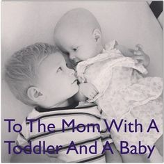 Today I've been thinking about all of you who are in the baby phase for the second, third, or fourth time. You are amazing, and I'm in awe o...