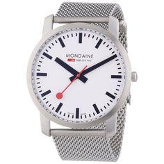 Mondaine Men's Simply Elegant Mesh Watch A6383035016SBM