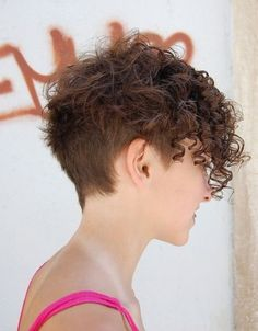 short hairstyles for frizzy curly hair - Google Search