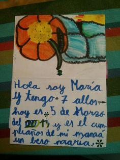 María 7 años