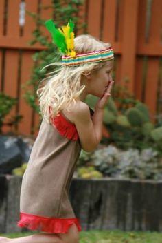 Handmade kids costumes.