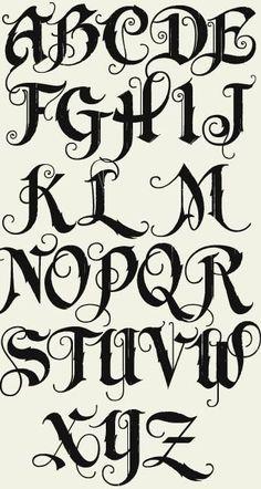 Graffiti Alphabet Fonts, Tattoo Fonts Alphabet, Tattoo Lettering Fonts, Hand Lettering Alphabet, Alphabet Letters, Typography Fonts, Calligraphy Fonts Alphabet, Grafitti Letters, Script Fonts
