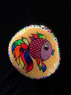 A fish of many colors!