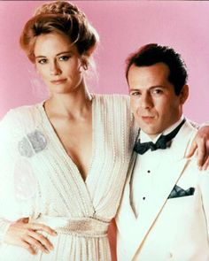 "The 80's TV show ""Moonlighting"" #80s   ...check out her shoulder pads, so popular then."