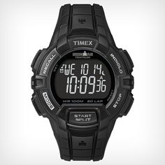 Timex Men's Ironman 30-Lap Rugged Watch, Black, One-Size * Read more reviews of the product by visiting the link on the image.