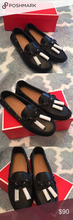 Women's Coach Loafers Never been worn women's Coach leather loafers... Style: Nadia - tag is not on the shoes but these are 100% unused! Perfect Condition still in the box! Coach Shoes Flats & Loafers