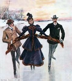 Ice Skating of Victorians