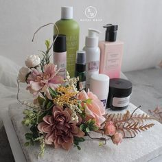 Wedding Baskets, Wedding Decorations, Table Decorations, Hampers, Flower Bouquet Wedding, Weeding, Gift Packaging, Wedding Gifts, Skincare