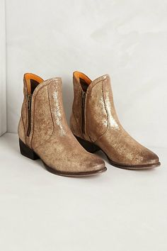 Tilden Booties #anthropologie They have them in sliver too!
