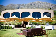 ROCA Restaurant   DIEU DONNE Wine Estate ‹ Iconic Views of the Franschhoek Valley Cape Town, South Africa, Gazebo, Wedding Venues, Outdoor Structures, Restaurant, Entertaining, Wine, Outdoor Decor
