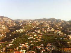 """A great view from """"Pico da Torre"""" in Camara de Lobos City, Madeira Island"""