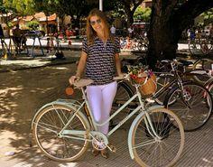Vou montar minha bicicleta imaginária e sair por ai...