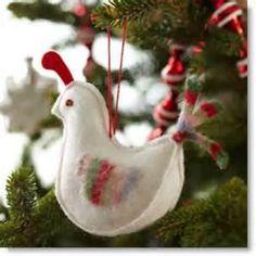 Christmas felt crafts