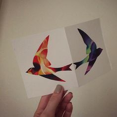 @sashaunisex watercolor birds