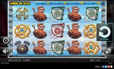 Free Viking's Glory slot has been developed on the theme based on Norse mythology. Spinomenal has worked hard to arouse interest for play with incorporation of brilliant design. Players can sense adrenaline rush when they access the special features as that offers opportunity to strike potential wins.