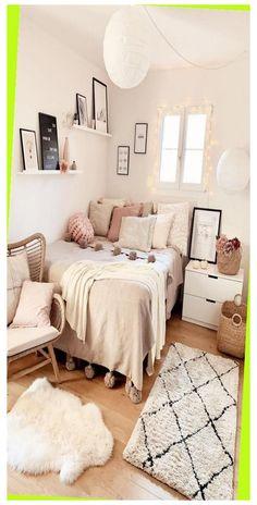 Cosy Bedroom Decor, Cute Room Decor, Room Ideas Bedroom, Small Room Bedroom, Small Rooms, Spare Room, Bedroom Colors, Kids Bedroom, Plaid Xxl