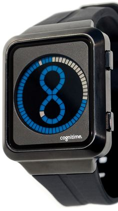 Cognitime IP Black Blue Watch
