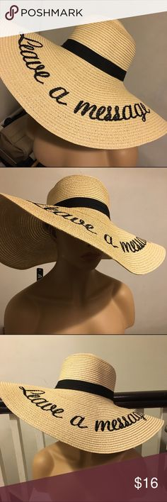 806b1224b8ce99 Leave a message tan floppy beach hat tanning wide Leave a message large  floppy beach tanning shade wide brim hat Accessories Hats
