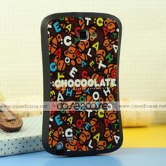 iFace Shock-absorbing Urethane case for Samsung galaxy note Monkey zoo