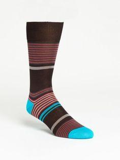 Crazy Socks, Cool Socks, Men's Socks, Fashion Socks, Mens Fashion, Les Brown, Just For Men, Colorful Socks, Striped Socks