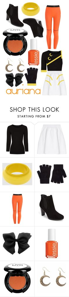 """""""""""New Star Generation"""" music video outfits (Auriana)"""" by lilithgemini ❤ liked on Polyvore featuring Alexander Wang, malo, NUR, Accessorize, Monreal, Paul Green, Essie, NYX, Alkemie and lolirock"""