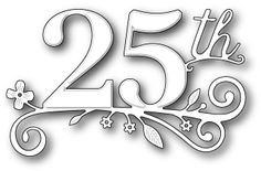 Anniversary Themed Dies, Embossing Folders, Punches - 123Stitch.com