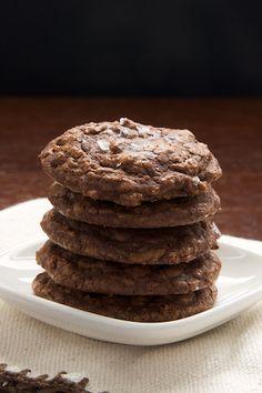 Salted Chocolate Truffle Cookies | Bake or Break