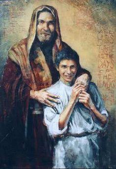 Today's Saint: St Joseph, Foster-father of Jesus Catholic Art, Catholic Saints, Religious Art, Catholic Prayers, Religious Icons, Religious Pictures, Jesus Pictures, Today's Saint, Saint Joseph