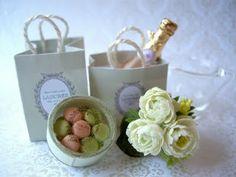 Laduree in miniature by Peiwen