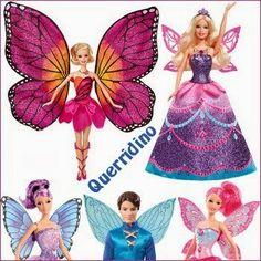 barbie-butterfly-e-princesa-fairy http://querridino.blogspot.com.br/search/label/Brinquedos