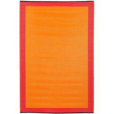 Found it at Wayfair - Skien World Orange Indoor/Outdoor Area Rug http://www.wayfair.com/daily-sales/p/The-Boho-Chic-Textile-Bazaar-Skien-World-Orange-Indoor%2FOutdoor-Area-Rug~FHT1111~E18404.html?refid=SBP.rBAZEVSu2Xkfmg-I2f74Ag4xu8ak-U4vtHnNBx9dQB0