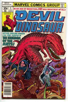 Devil Dinosaur 5 Marvel 1978 NM Moon Boy Giant Ants Bugs Jack Kirby