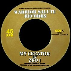 """Zed I Feat. Christine Miller - My Creator: buy 7"""" at Discogs"""