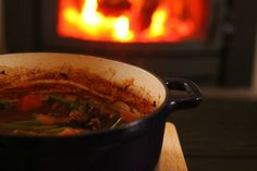 Winter Warmer: Beef and vegetable stove top stew | Baby Mac