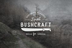 """trendgraphy: """"Logos from the Great Outdoors. Logos from the Great Outdoors. Inspired by nature Edit the text with your own copy and boom you have your own vintage outdoor logo. Typography Tumblr, Retro Typography, Retro Logos, Typography Design, Lettering, Outdoor Logos, Vintage Logo Design, Vintage Logos, Grafik Design"""