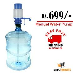 Manual Drinking Water Pump With Protective Cap in Rs.699 – Shop-Tonights