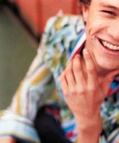 Heath Ledger - I still mourn his passing. When I first saw him in 10 THINGS I HATE ABOUT YOU, I sat up and said who is that? It was love at first sight.