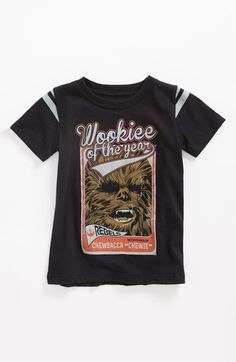 Mighty Fine 'Wookie of the Year' T-Shirt (Toddler) available at #Nordstrom