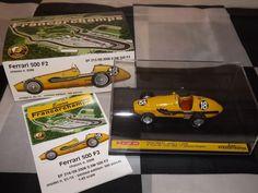 1/43 BRUMM ECURIE FRANCORCHAMPS FERRARI 500 F2 AVUS 1953 LIMITED 500 MODEL CAR #Brumm #Ferrari