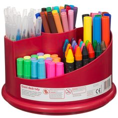 Hobby World Twirling Stationery Set - includes glitter glue, colouring pens, crayons and more! 150pc