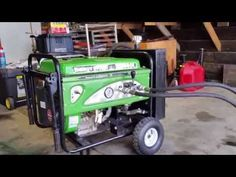 This is a homemade hydraulic power pack made from a 15 horse power generator motor. Hydraulic System, Power Generator, Control Valves, Tractors, Outdoor Power Equipment, Homemade, Youtube, Diy, Build Your Own