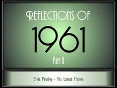 ▶ Reflections Of 1961 - Part 2 ♫ ♫ [35 Songs] - YouTube