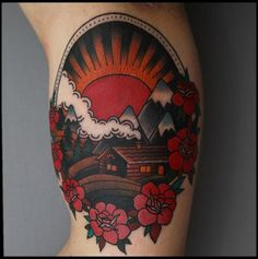 Okay, I don't really want a tattoo, but this? THIS IS AWESOME. I at least need this on my wall.