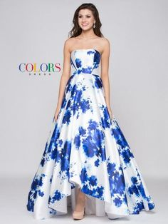 Print Mikado Prom Evening Dress with Scarf - Prom And Bridal Dress House Prom Outfits, Bridal Outfits, Bridal Dresses, Bridesmaid Dresses, Prom Dresses, Formal Dresses, Full Skirt Dress, Mom Dress, Ball Dresses