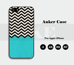 iPhone 5C Cases, Navy Coral Chevron iPhone 4 Case, iPhone 5 Case Cover ,Personalized iPhone Case, iPhone 5S Cases on Etsy, $9.99