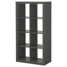 EXPEDIT Regal - Hochglanz grau - IKEA