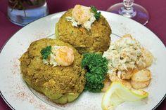 Seafood Merliton Casserole
